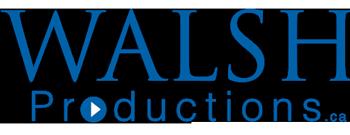 Walsh Productions Logo Blue